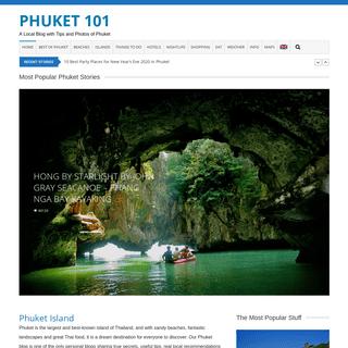Phuket 101 Blog ▷ 25 Years of Phuket Island Secrets and Tips Revealed