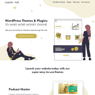 Launch and Sell - WordPress Themes for Female Entrepreneurs