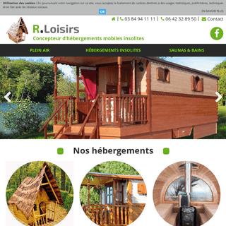 R - Loisirs - Fabricant de roulottes et d'hébergements mobiles de loisirs