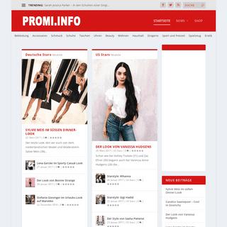 Promi.info • Dein Online Magazin über Stars und Sternchen