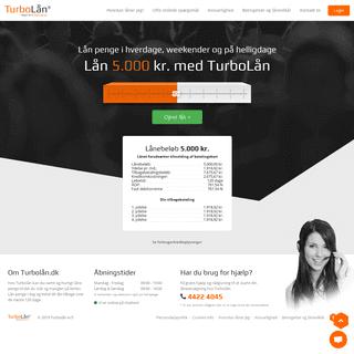 TurboLån - Lån op til 10.000 kr.