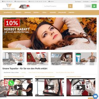 Dachfenster & Fenster Online-Shop - Ihr Baustoffhandel