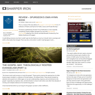 ArchiveBay.com - sharperiron.org - SHARPER IRON - Thinking is fundamental