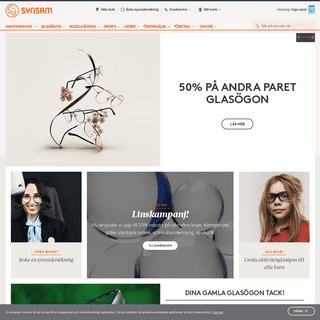 ArchiveBay.com - synsam.se - Optiker, glasögon, solglasögon & linser - Synsam