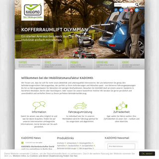 Behindertengerechter Fahrzeugumbau - KADOMO GmbH