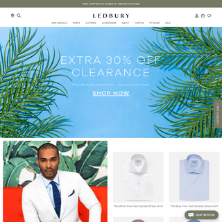 ArchiveBay.com - ledbury.com - Ledbury - Luxury Men's Shirts & Accessories