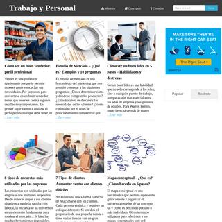 ArchiveBay.com - trabajoypersonal.com - Trabajo y Personal