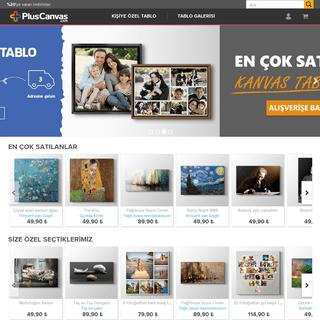 PlusCanvas. Kanvas Tablo Galerisi ve Kişiye Özel Tablolar