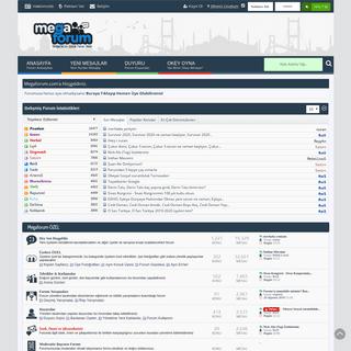 MegaForum.Com - Türkiye'nin En Güncel Forum Sitesi