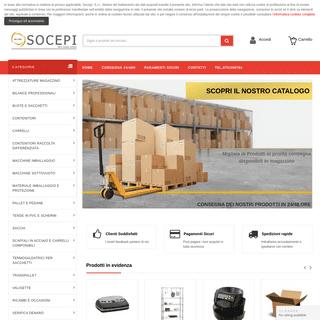 Socepi forniture, migliaia di articoli e prodotti per le aziende