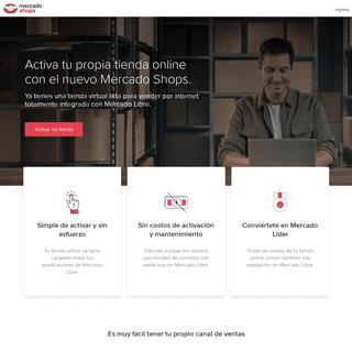 Mercado Shops - Tu tienda online