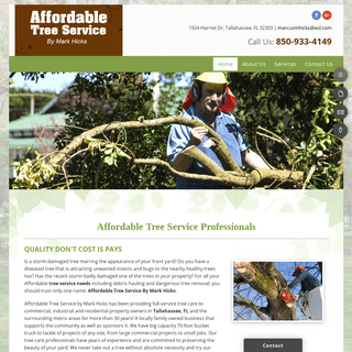 ArchiveBay.com - affordabletreeservicetallahassee.com - Tallahassee Tree Service - Debris Hauling - Dangerous Tree Removal