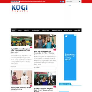 -- Latest Kogi News, Kogireports -- - Kogi State Nigeria
