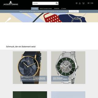 Jacques Lemans Homepage - Deutsch - Jacques Lemans Shop