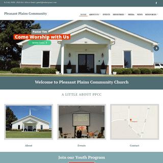 Pleasant Plains Community – Pleasant Plains Community Church, Lillington NC