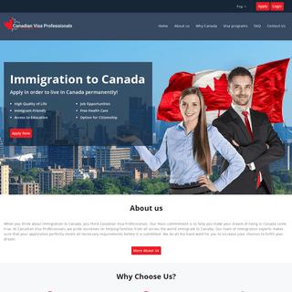 Canadian Visa Professionals - Immigration to Canada