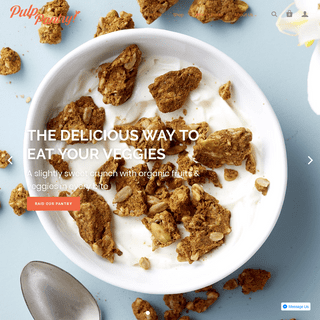Pulp Pantry - Pulp Pantry - Superfood Fruit and Vegetable Snacks