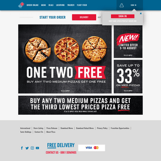 Domino's Pizza South Africa