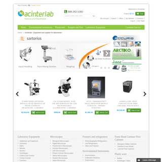 Acinterlab - Equipment and supplies for laboratories