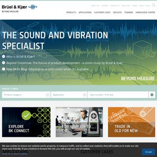 Home - Brüel & Kjær Sound & Vibration