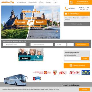 ArchiveBay.com - pks.jgora.pl - Strona główna - PKS TOUR Jelenia Góra