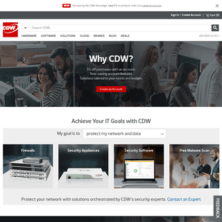 Welcome to CDW