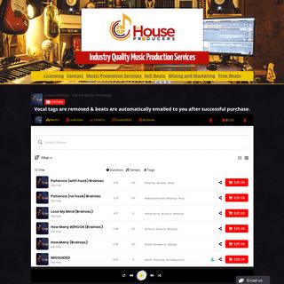 Rap Beats For Sale - Buy Hip Hop Beats Online - In House Producers