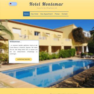Hotel Montemar Benissa