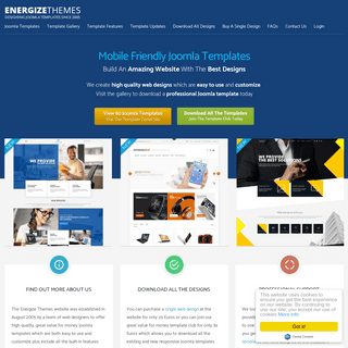 Joomla Templates & Designs by Energize Themes