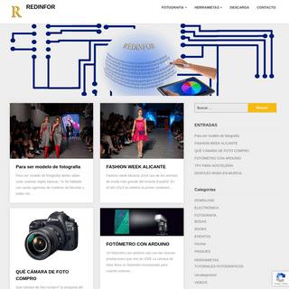 REDINFOR - Técnicas y electrónica en la fotografía