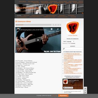 ArchiveBay.com - gitarpengeto.hu - GitárPengető.hu - Minden, ami a gitárosok zenei fejlődéséhez kapcsolódik!