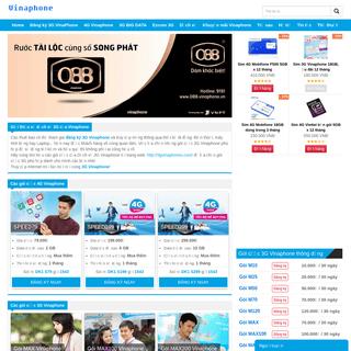 Vinaphone - Website thông tin của Vinaphone 3G
