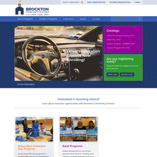 Brockton Community Schools - Community Education Programs in MA