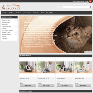 Armarkat.com - Cat Furniture, Cat tree, Dog Bed, Cat Bed
