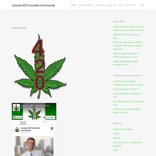 Canada 420 Cannabis Community – Canada 420 national (cannabis communities)