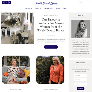 Smart. Casual. Classic. - Fashion and Beauty for Women 50+