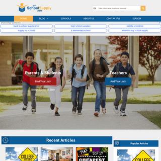 ArchiveBay.com - myschoolsupplylists.com - My School Supply Lists