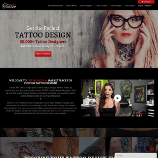 Custom Tattoo Designs - Tattoo Ideas for Men and Women - CreateMyTattoo