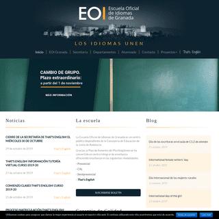 EOI - Escuela Oficial de Idiomas de Granada