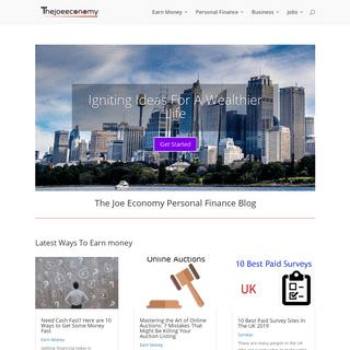 The Joe Economy Personal Finance Blog
