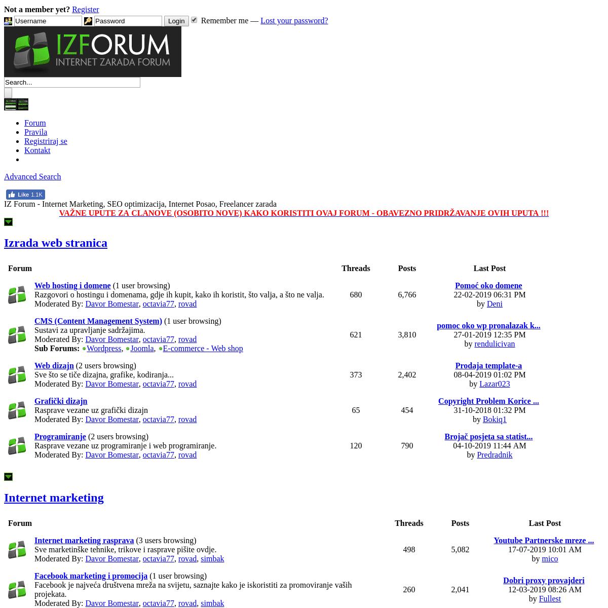 Za upoznavanje interneta preko najbolji iskustva sajtovi TOP 5