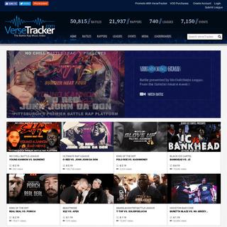 VerseTracker- The Battle Rap Culture Index - Battle Rap Leaderboards, Videos, Events & More