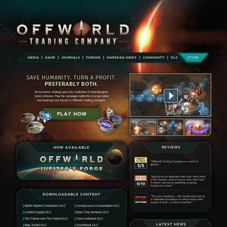 ArchiveBay.com - offworldgame.com - Offworld Trading Company- Save Humanity. Turn a Profit. Preferably Both.