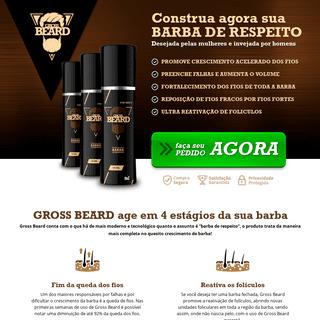 Gross Beard - Construa agora sua BARBA DE RESPEITO