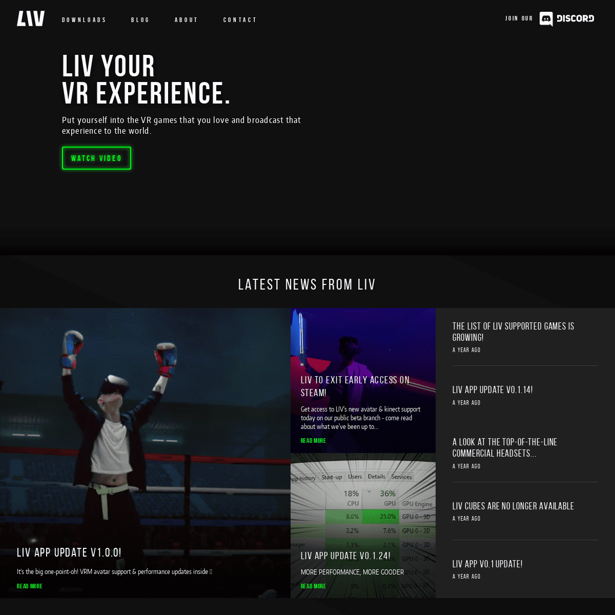 LIV is your window into VR