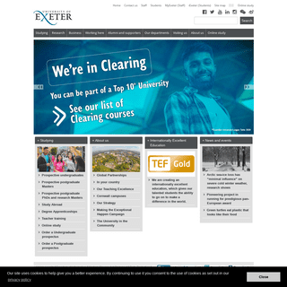 ArchiveBay.com - exeter.ac.uk - Home - University of Exeter