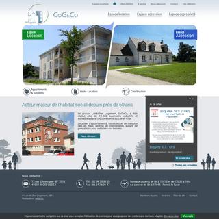 Logements collectifs et individuels - Habitat social - Loir-et-Cher Logement