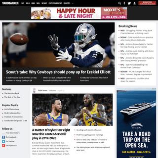 Sports Rumors, News & Videos - Yardbarker.com