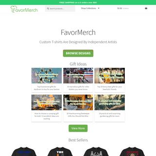 Cool T-shirt Designs - FavorMerch