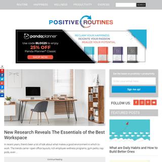 ArchiveBay.com - positiveroutines.com - Positive Routines -
